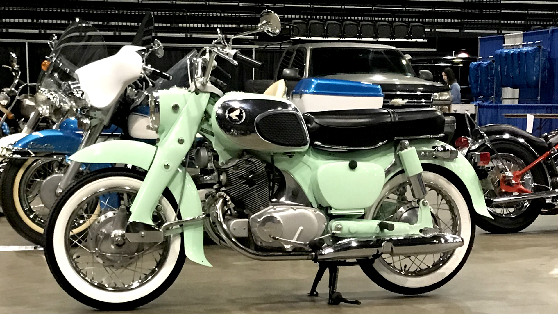 hight resolution of 1969 honda 305 dream 1
