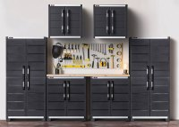 Keter Tool Storage Cabinets: What Do You Get?...