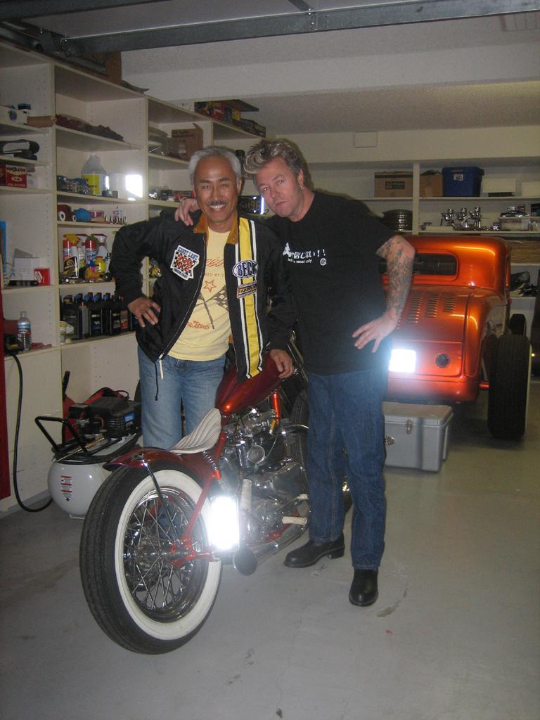 Garage Company Bikes  Brians Bobber Super Kustom Triumph