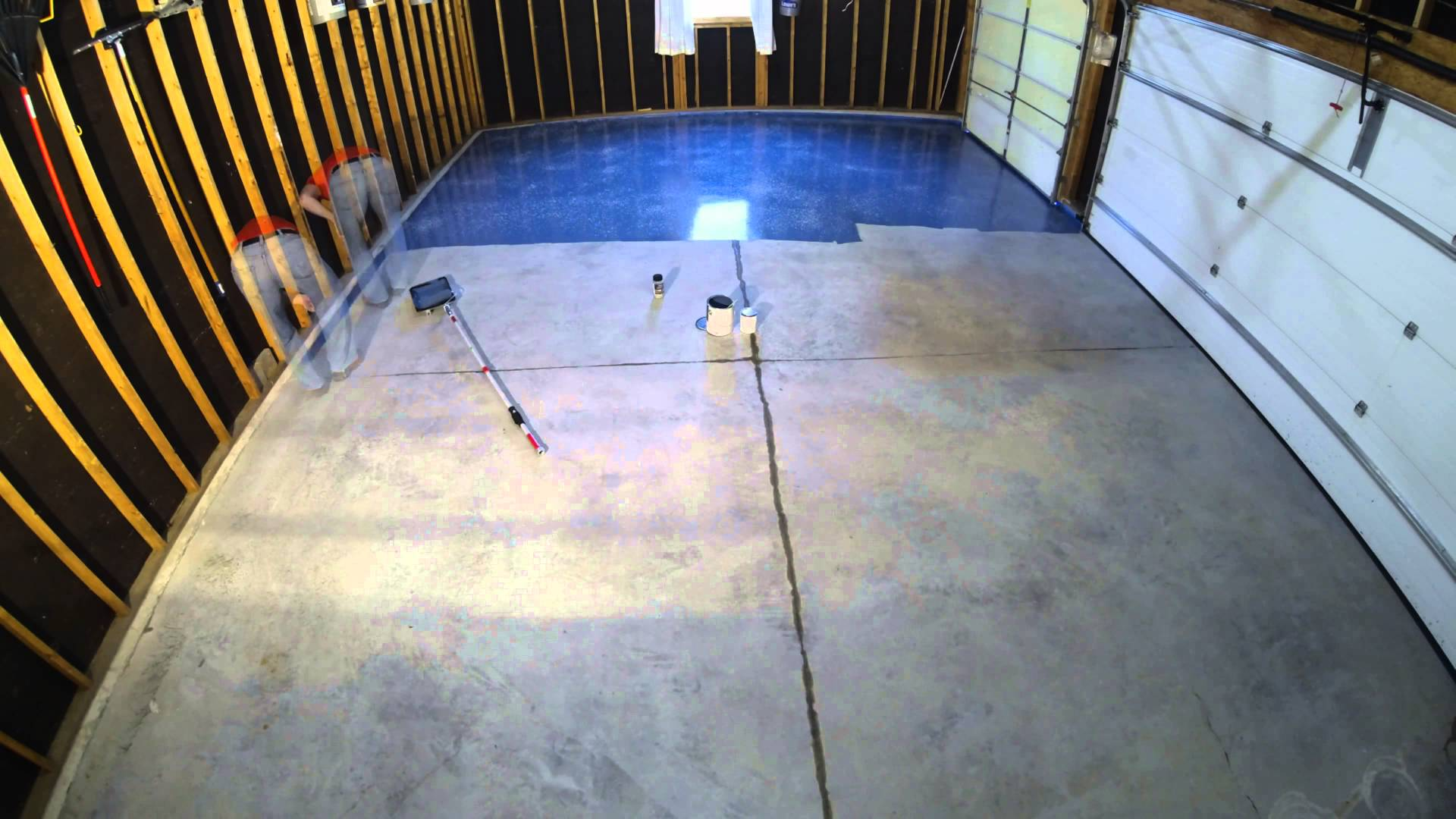 Step 9 Garage Floor