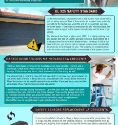 overhead door garage door safety sensor wiring [ 731 x 1200 Pixel ]