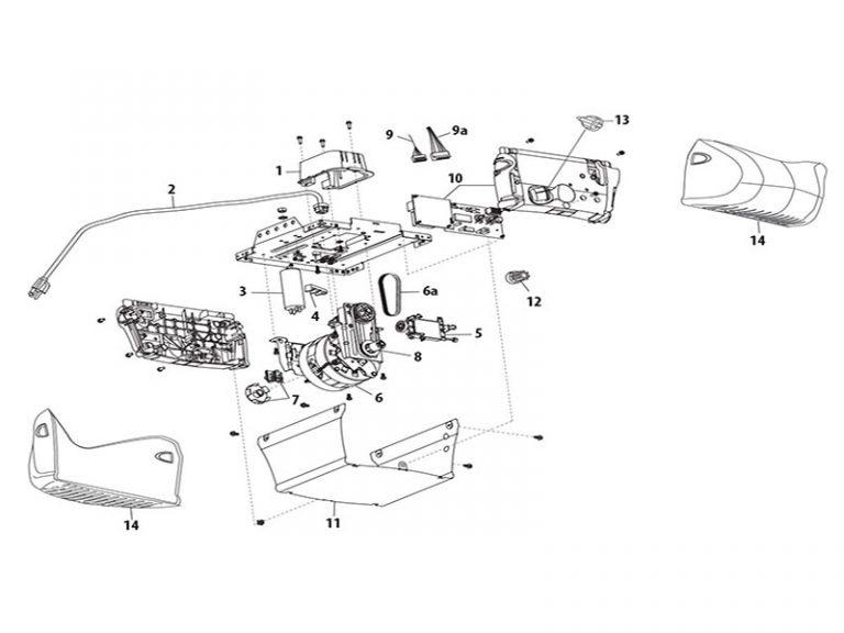 LiftMaster 3240 1/2 HP Screw Drive Garage Door Opener