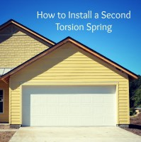How To Replace Your Garage Door Torsion Spring