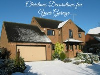 Decorating Your Garage Door for Christmas