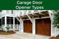 The Three Different Types of Garage Door Openers ...