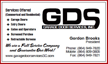 Garage Door Service  Repair Greenville  Spartanburg