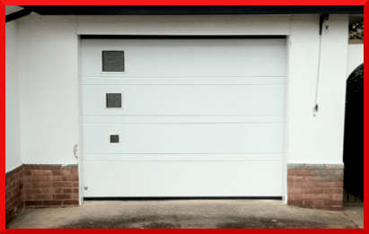 Top Rib Panels Garage Doors