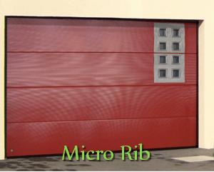 Micro Rib Panels Doors