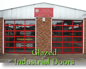 Glazed Industrial Doors