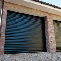 Gliderol Roller Door with Full Hood and Colour Paint ...