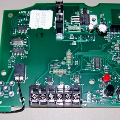Genie Intellicode Receiver Wiring Diagram 2001 Grand Marquis Fuse Garage Door Opener Control Board   Dandk Organizer