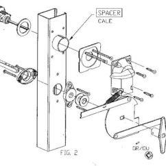 Car Door Lock Parts Diagram 1948 8n Ford Tractor Wiring Garage Kit