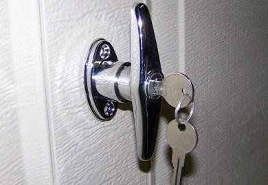 Outside Garage Door Lock