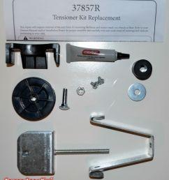 genie tensioner 37857r 15 99 genie tensioner 37857r genie garage door opener parts [ 2105 x 2393 Pixel ]