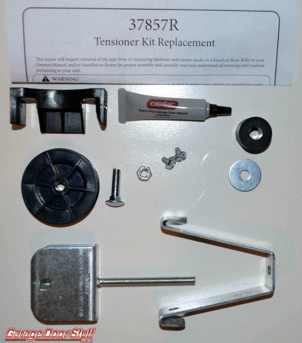 medium resolution of genie tensioner 37857r 15 99 genie tensioner 37857r genie garage door opener parts