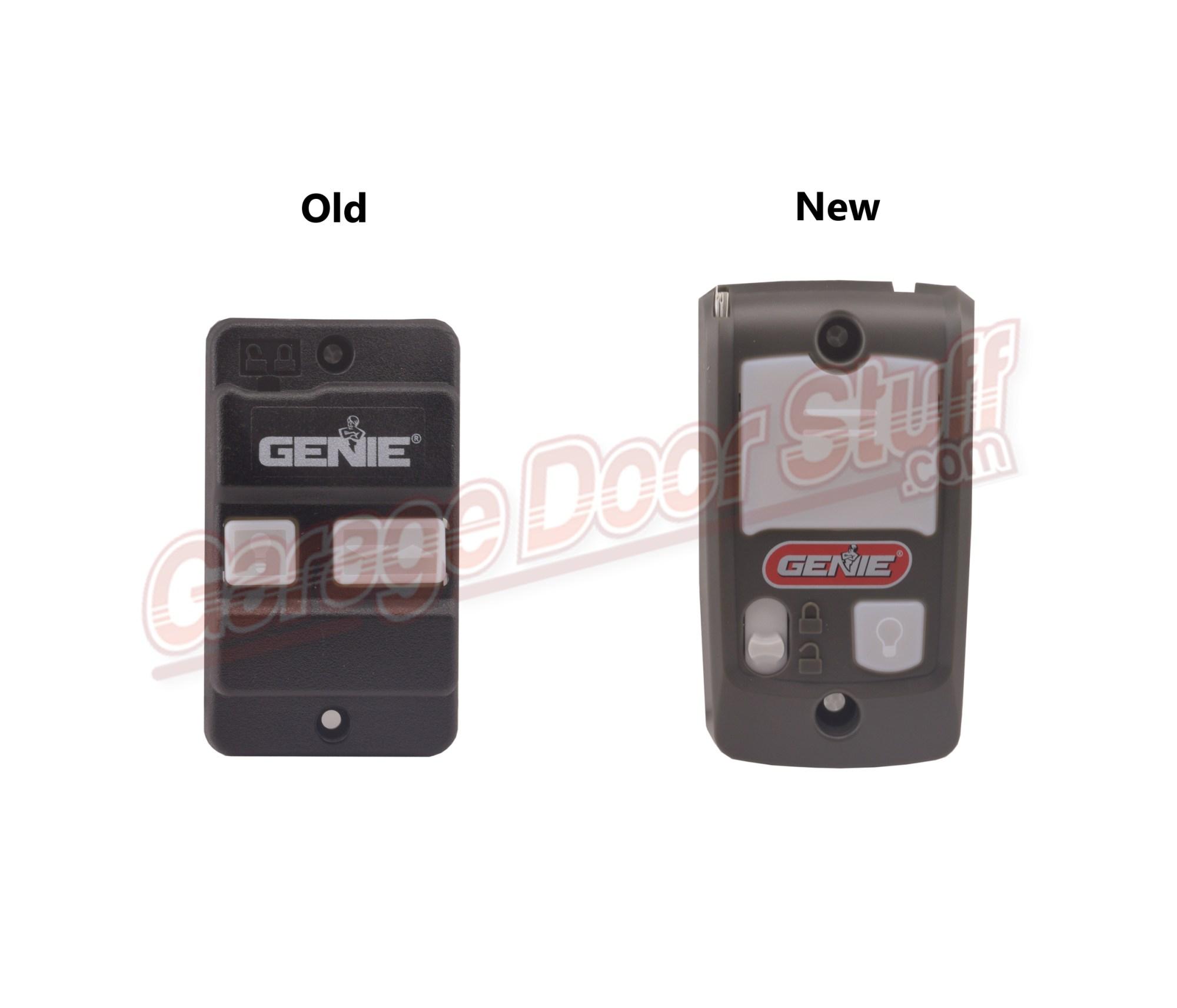 hight resolution of genie garage door opener wall console