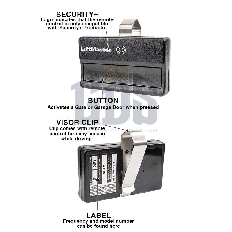 Program Chamberlain Garage Door Opener Remote 950cd