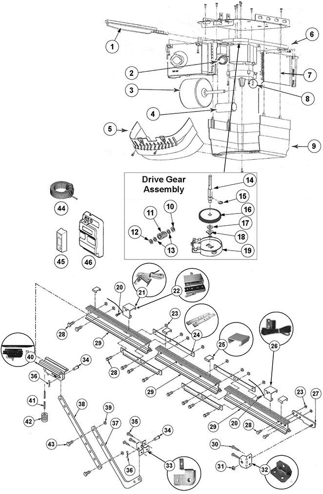 genie intellicode garage door wiring diagram refrigeration pressure switch safety beam liftmaster ~ elsalvadorla