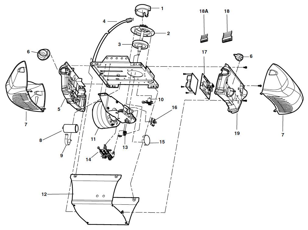 LiftMaster Model 2265 Garage Door Opener Parts