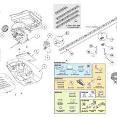 Genie Garage Door Parts Diagram El Falcon Wiring 2564 2562 Opener