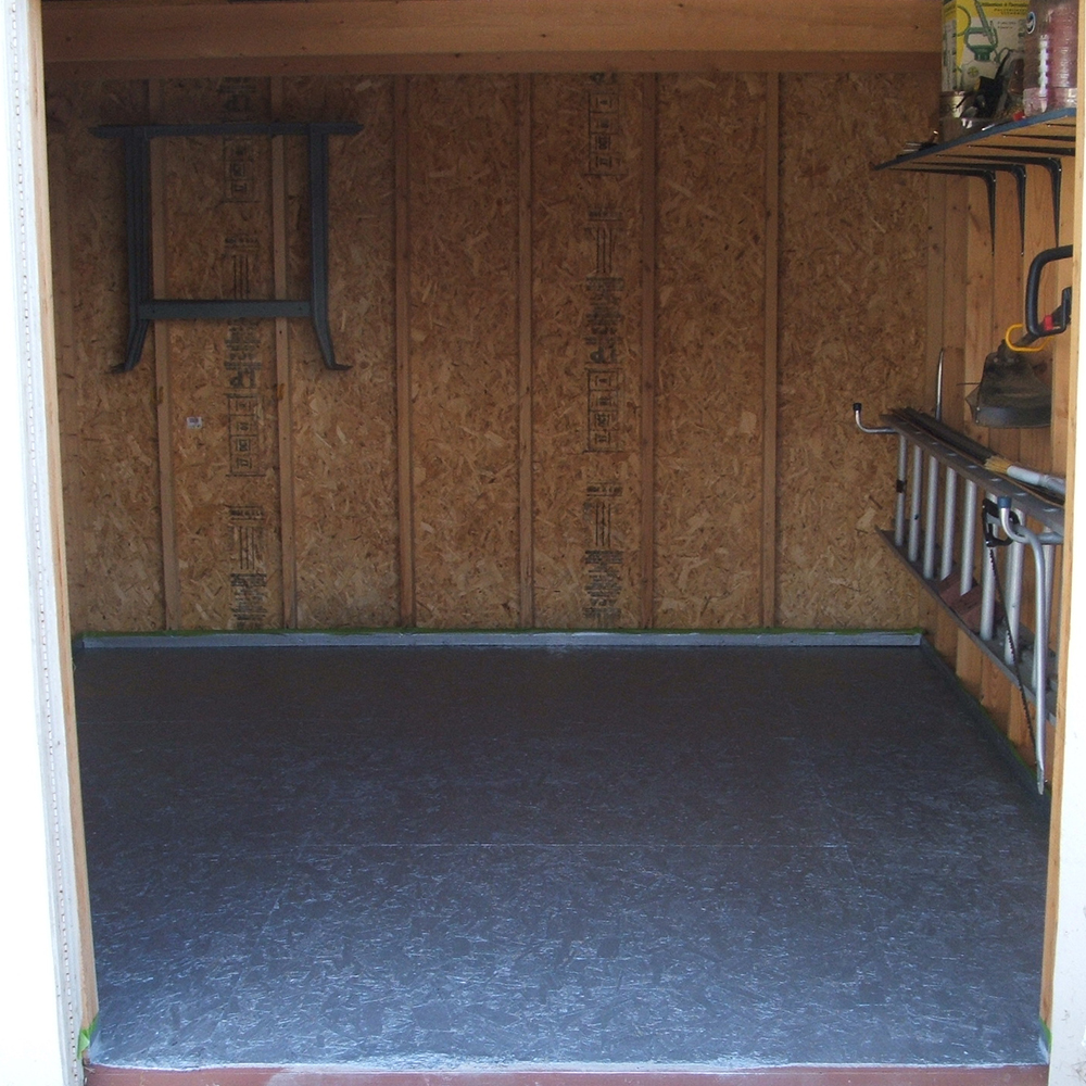 Plywood Garage Floor Paint