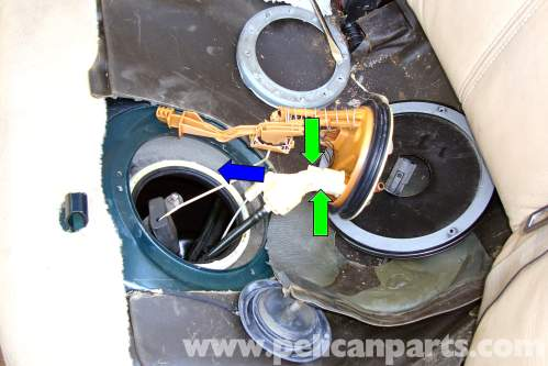 small resolution of bmw e39 fuel pump sender removal