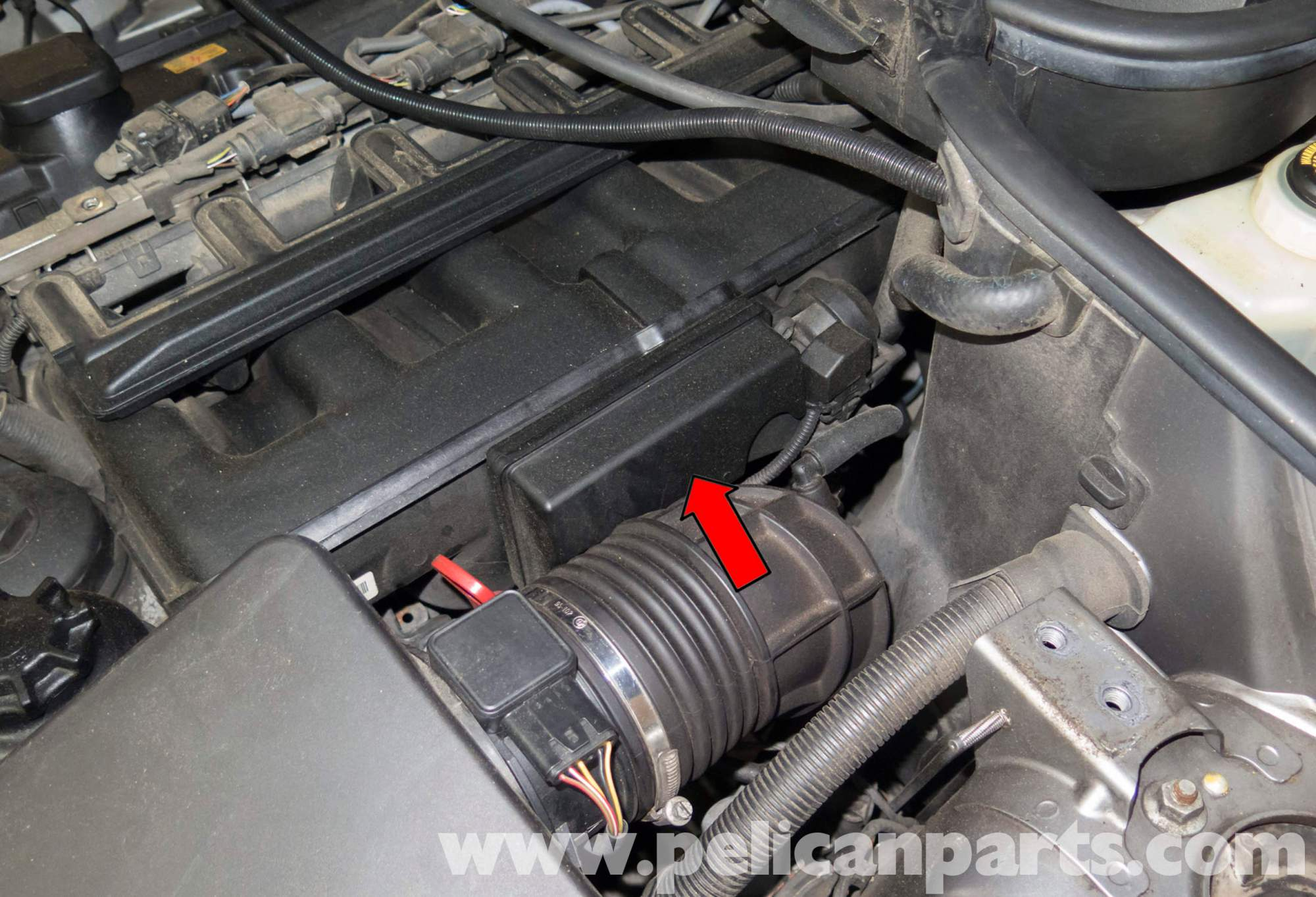 hight resolution of bmw x series m54 6 cylinder engine disa resonance valve valve replacement