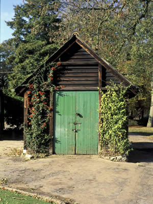 English Garden Shed  Fine Details Bring Attention and Admiration
