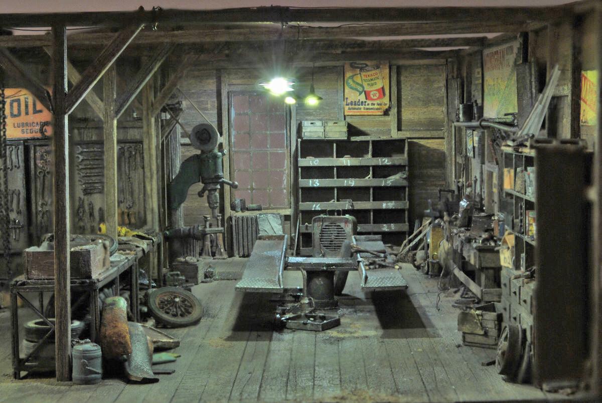 The Garage Journal Blog Archive Vintage Shop Scenes