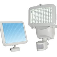 Sunforce 82120 White 120-LED Solar Motion Light