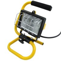 150 Watt Halogen Portable Bright Work Light Construction Light Garage Light