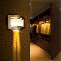 [LED Wall Light] OxyLED Luxury Aluminum Stick Anywhere Bright Motion Sensor Activated LED Wall Sconce Night Light, Auto On/Off for Hallway, Pathway, Staircase, Garden, Wall, Drive Way (T-03)