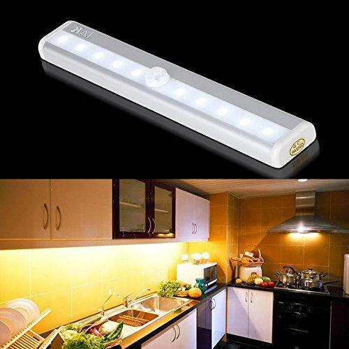 JVR® LH16 PIR Motion Sensor LED Light DIY Portable Closet Nightlight For  Cabinet Drawer Corridor
