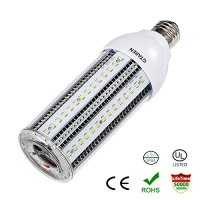 20W LED Corn Light Bulb for Indoor Outdoor Large Area - UL DLC 5000K Daylight 2000Lm E26 Base,Replace Metal Halide HID CFL HPS Bulbs for Post Lighting Garage Backyard Garden.