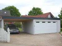 Bilder von Garagen und Carport Kombinationen