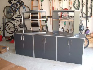 Traditional Garage Cabinets