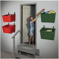 Rubbermaid 5e28 Deluxe Tool Tower Rack With Casters Holds
