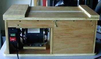 Shop Built Drum Sander