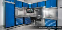 Garage Strategies | Hayley Metal Cabinets, Garage Cabinets ...