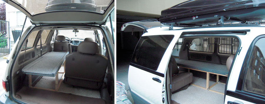 Build A Bed In Your Previa