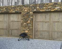 carriage house wood door
