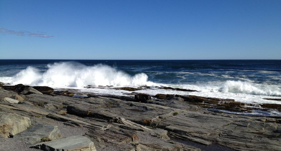 Maine Ocean Waves
