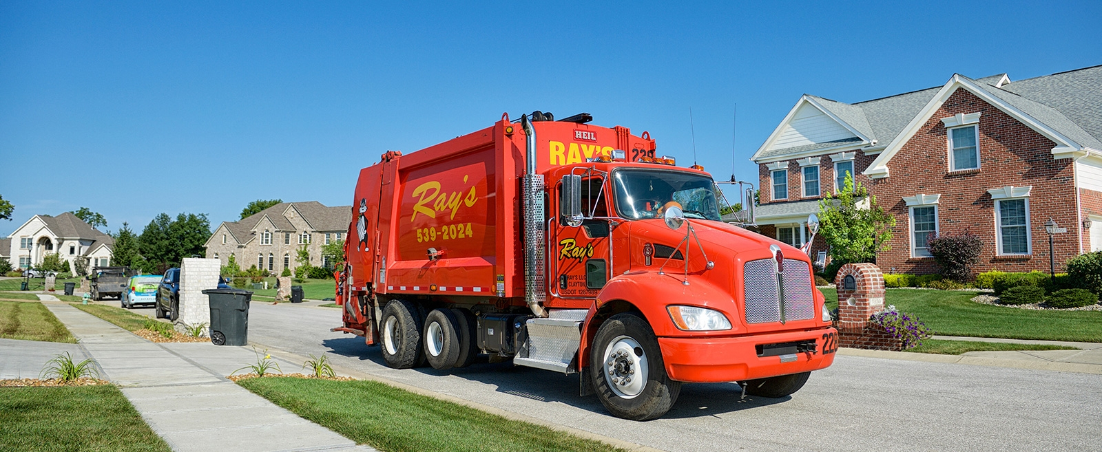 Truck  Vehicle  Rays Trash Service Inc  National Garbage Man Day
