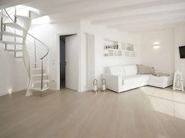 Parquet bianco eleganza e originalit per la casa al mare  Garbelotto