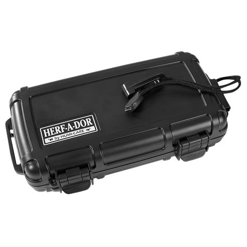 Herf-a-Dor Travel Humidor X5 - Black