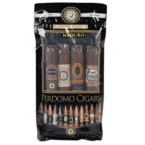 Perdomo Humidified Sampler 4 Pack Maduro