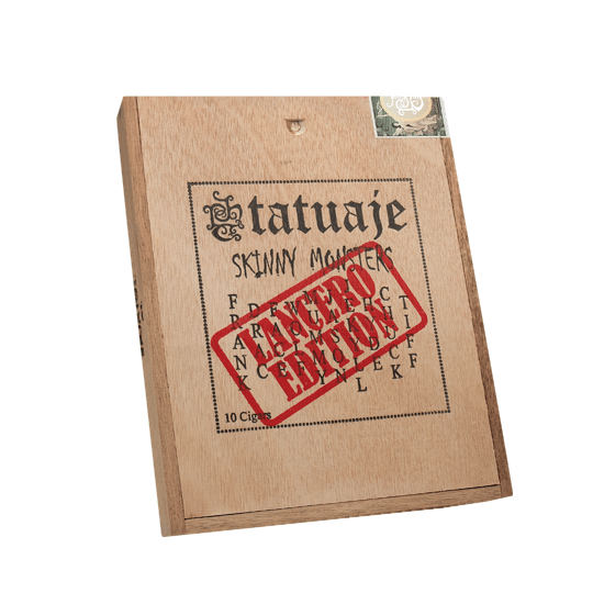 Tatuaje Skinny Monsters Lancero Sampler Closed Box