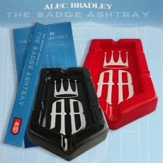Alec Bradley Badge 6-Finger Ashtray