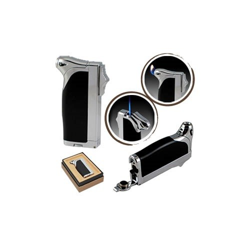Dual Style Flame Lighter Black