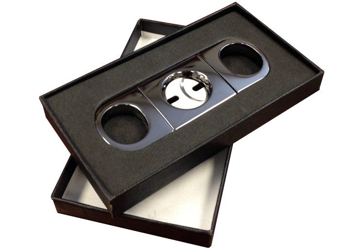 HEAVY BODIED CIGAR CUTTER (GUN METAL) Box